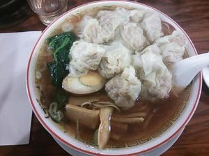 広州市場 広州雲呑麺