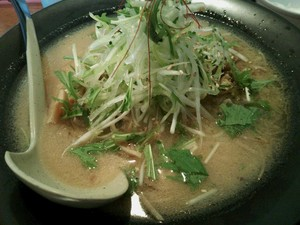 麺家かぐら本店 鶏ごぼうラーメン味噌