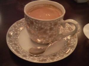 九谷焼のコーヒー