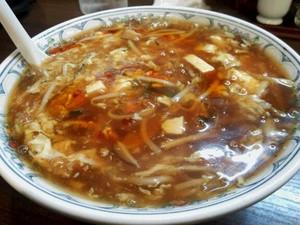 山形五十番飯店 スーラータン麺