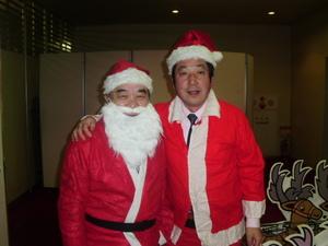 サンタクロースです。